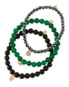 Beaded Bracelet Sets With Charms