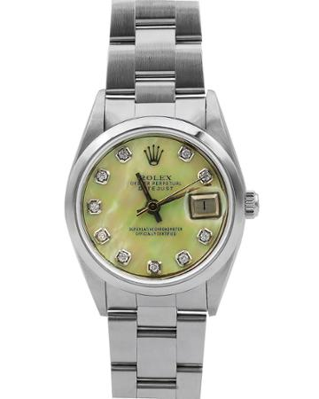 Pre-owned 26mm Datejust Diamond Bracelet Watch