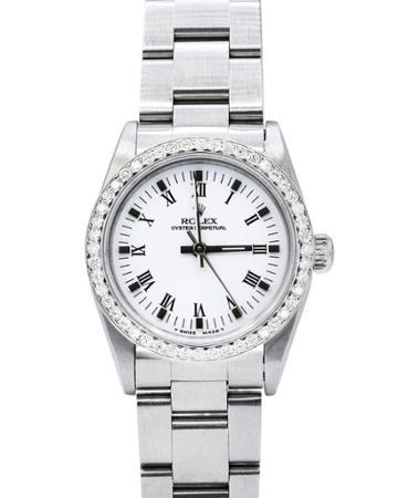 Pre-owned 31mm Diamond Oyster Bracelet Watch