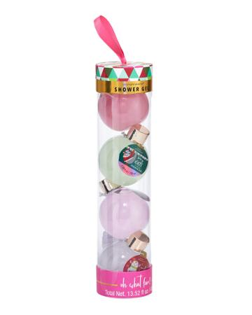 Oh What Fun Ornament-shaped Shower Gel Gift