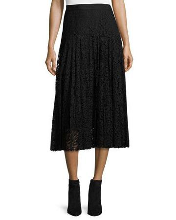 Pleated Lace