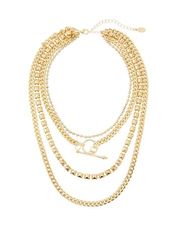 Ziggy Multi-chain Necklace