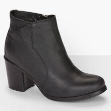 Ankle Booties - Black