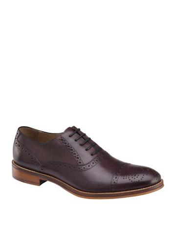 Johnston & Murphy Conard Leather Lace-up Oxfords