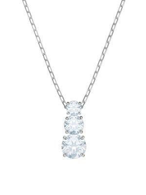 Attract Swarovski Crystal Pendant Necklace