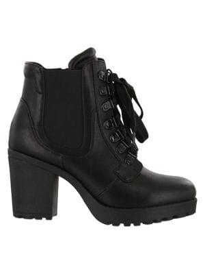 Mia Aden Vegan Leather Boots