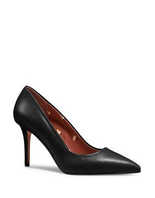 Coach Waverly Leather Pumps