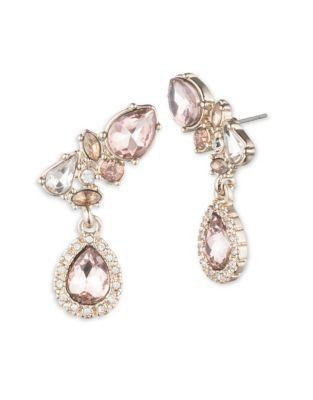 Givenchy Blush Crystal And Goldtone Ear Crawlers