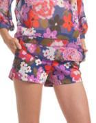 Trina Turk Corbin Floral-print Shorts