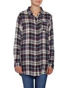 Jag Magnolia Shirt Collar Plaid Shirt