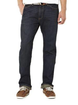 Nautica Dark Blue Relaxed-fit Jeans