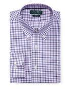Lauren Ralph Lauren Cotton Check Dress Shirt
