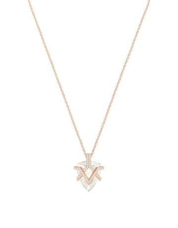 Swarovski Crystal Pave Pendant Necklace