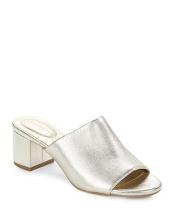 Bandolino Spars Leather Slide Sandals