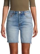 Free People Avery Bermuda Denim Shorts