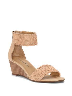 Lucky Brand Joshelle Ankle-strap Wedges