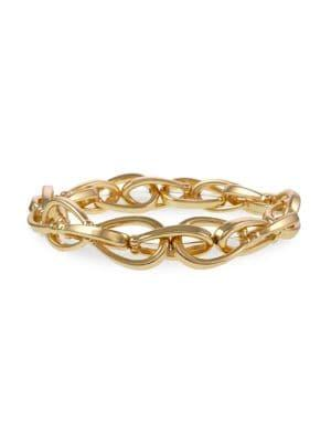 Laundry By Shelli Segal Montebello Metals Goldtone Chain Link Bracelet