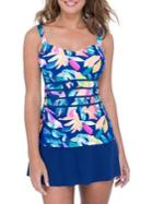 Profile By Gottex Printed D-cup Tankini