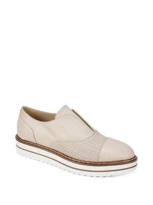 Summit By White Mountain Bliss Leather Slip On Oxfords