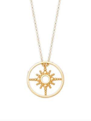 Dogeared Seek It All Goldplated Necklace