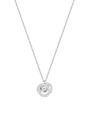 Generation Swarovski Crystal Swirl Pendant Necklace