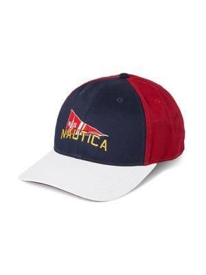 Nautica Colorblock Collegiate Cotton Baseball Cap