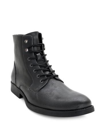 Robert Wayne Donovan High-top Leather Boots