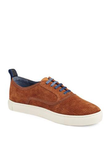 Ted Baker London Odonel Perforated Suede Oxfords