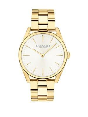 Coach Preston Analog Stainless Steel Bracelet Watch
