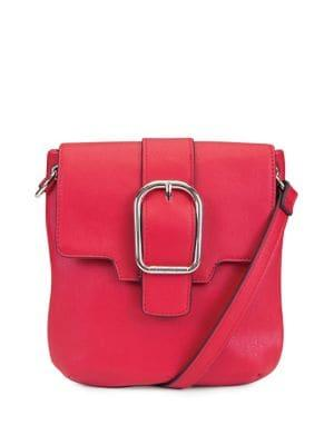 Nautica Close Reach Flap Faux Leather Crossbody Bag