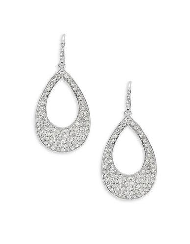 A.b.s. By Allen Schwartz Pave Teardrop Earrings