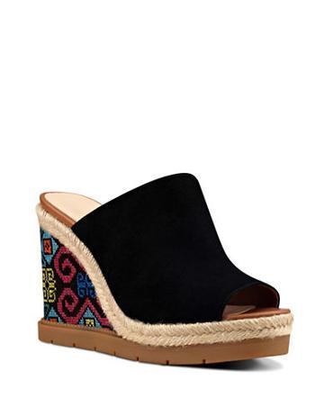 Nine West Vip Suede Wedge Sandals