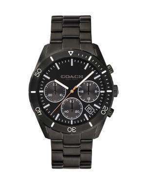 Coach Thompson Sport Stainless Steel Chronograph Bracelet Watch