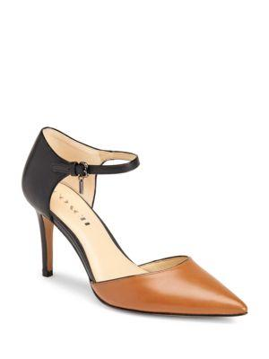 Coach Seline Calf Leather Pumps