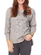 Democracy Printed Roundneck Sweater