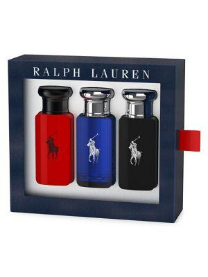 Ralph Lauren World Of Polo Coffret Three-piece Holiday Set