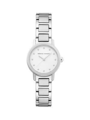 Rebecca Minkoff Bffl Stainless Steel Bracelet Watch
