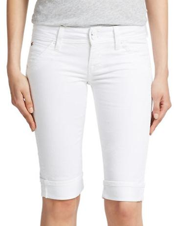 Hudson Jeans Cuffed Bermuda Jean Shorts
