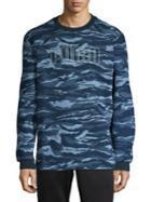 Puma Camo Foil Crew Sweatshirt