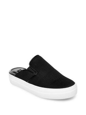 Design Lab Lord & Taylor Slip-on Mesh Sneakers