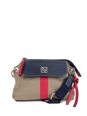 Nautica Rower's End Canvas Crossbody Bag