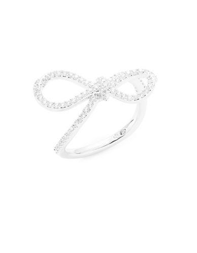 Nadri Cubic Zirconia Bow Ring