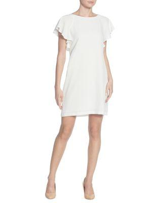 Catherine Catherine Malandrino Daiva Ruffle-sleeve Dress