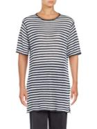 Eileen Fisher Striped Linen Tunic