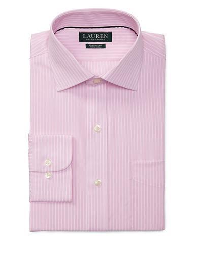 Lauren Ralph Lauren Cotton Striped Dress Shirt