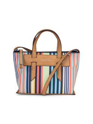 Nautica West Palm Striped Crossbody Bag