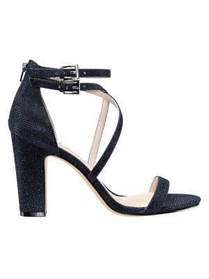 Nina Shari Glitter Strappy Sandals