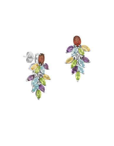 Lord & Taylor Marquise-cut Multi-stone Drop Earrings