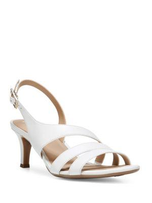 Naturalizer Taimi Leather Slingback Sandals