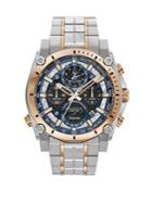 Bulova Precisionist Chronograph Stainless Steel Bracelet Watch